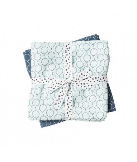 Swaddle 2-pack Balloon Blue