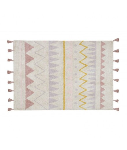 Washable rug Azteca Natural - Vintage nude