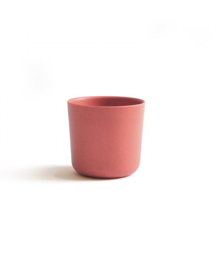 Bamboo cup - terracotta