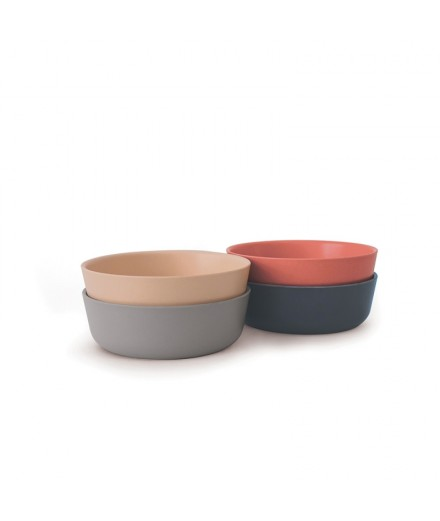 Bamboo bowl - terracotta