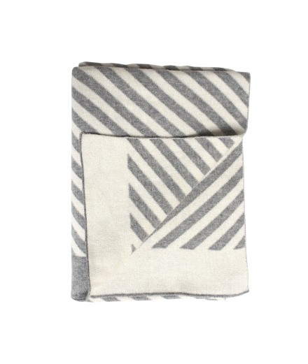 Blanket stripes - grey