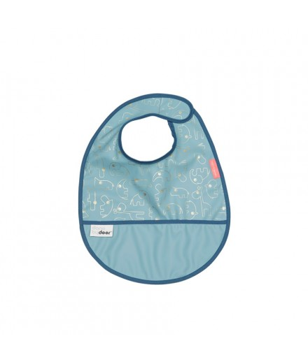 Bib Contour - Gold/blue