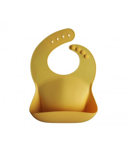 Babete silicone - mineral yellow