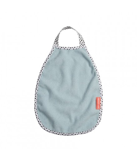 pullover terry bib happy dots blue