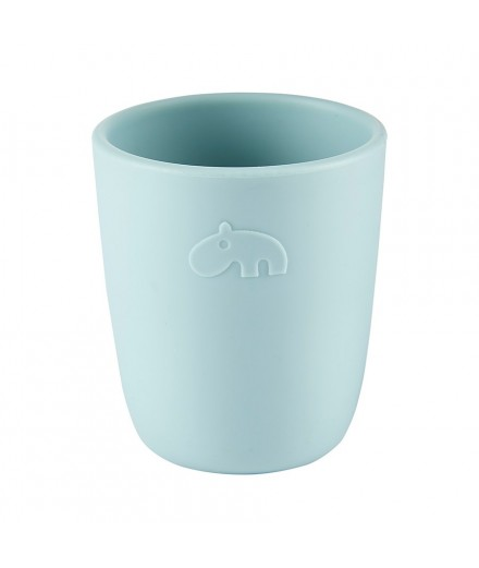 silicone mini mug - blue
