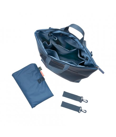 changing backpack blue