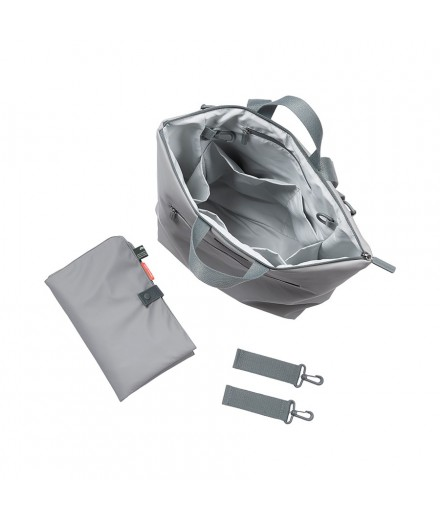 changing backpack grey
