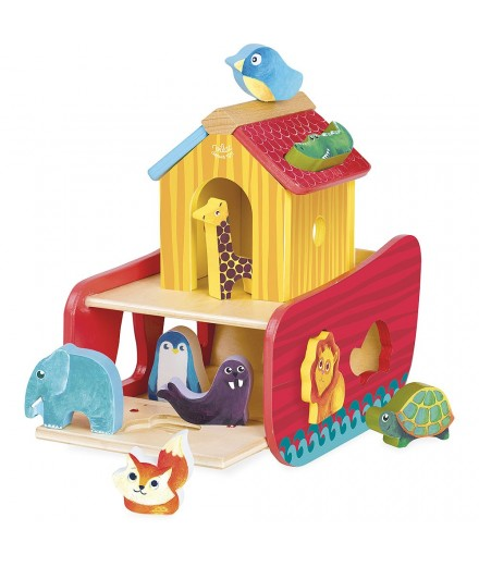 animals ark shape sorter