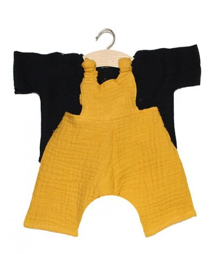Jules mustard/black set