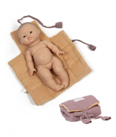 Dolls changing mat - orchid