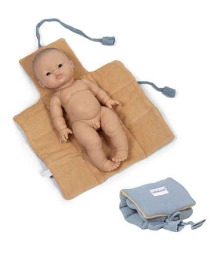 Dolls changing mat - blue