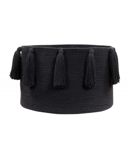 Basket Tassels Black