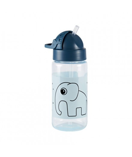 straw bottle elphee - blue
