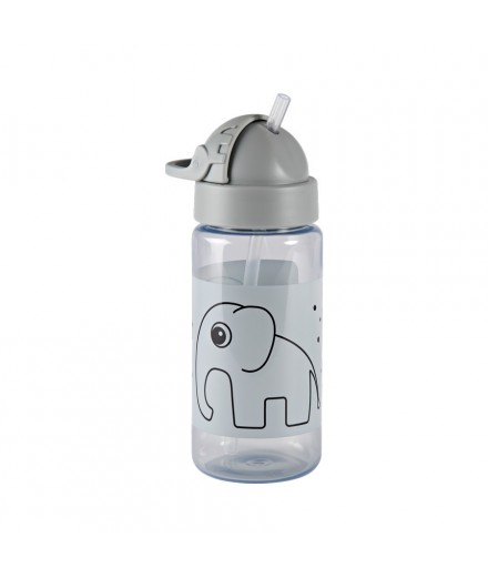 straw bottle elphee - grey