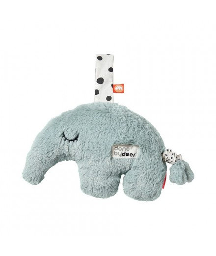 musical cuddle toy Antee blue