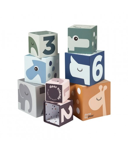 Stacking and Nesting Blocks - Deer friends