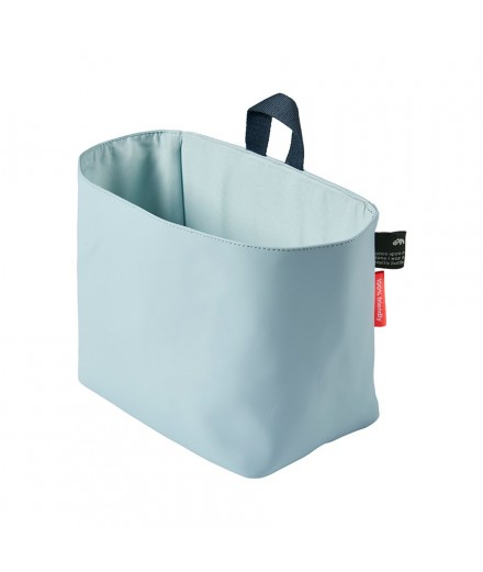 wall pocket large blue