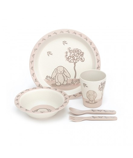 Bamboo Eco Dinner Set - my friend bunny