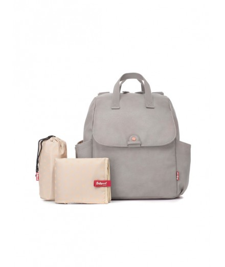 Backpack Robyn Faux Leather pale grey