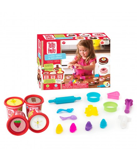 scented modeling dough - cookies