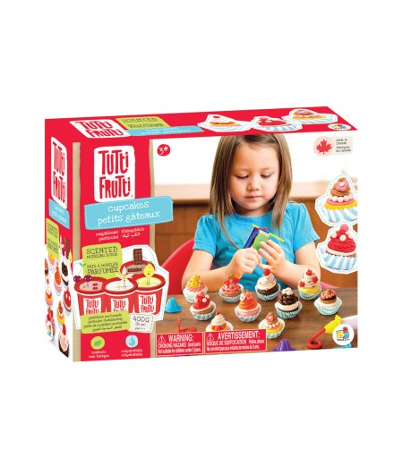scented modeling dough - cupcakes