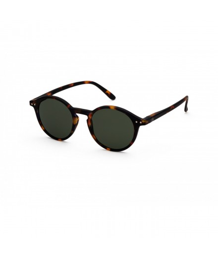 ADULT sunglasses D TORTOISE GREEN LENSES