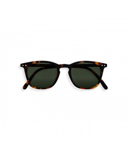ADULT sunglasses E TORTOISE GREEN LENSES