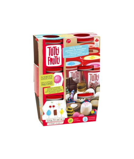 scented modeling dough - candy 6 pack