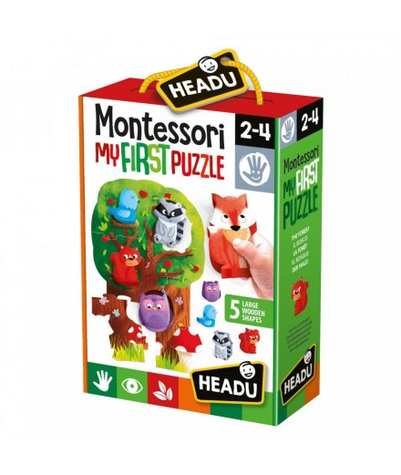 MY FIRST MONTESSORI PUZZLE - forest