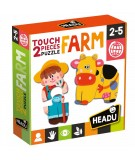 2 pieces Puzzle Touch Farm