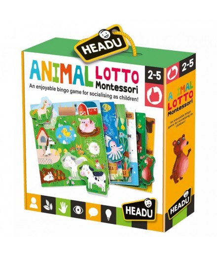 animal lotto montessori