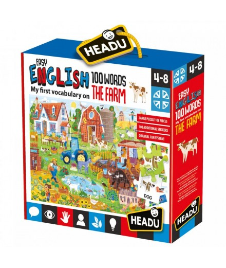 Easy English 100 Words Farm