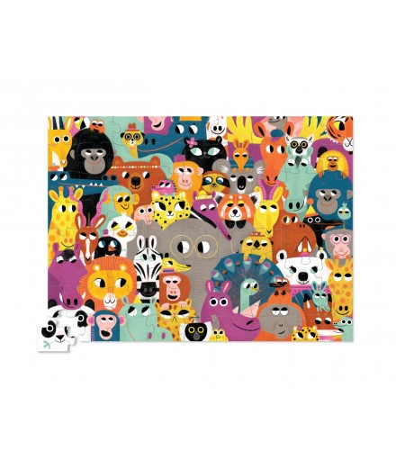 PUZZLE 72 PCS - ANIMALS