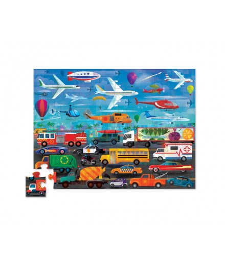PUZZLE 48 PCS - ABOVE AND BELOW VEHICLES