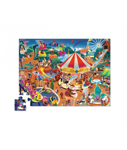 PUZZLE 48 PCS - DAY AT THE FAIR