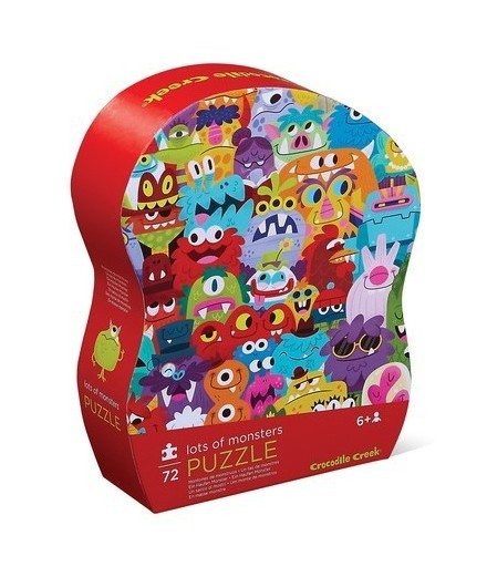 PUZZLE 72 PCS - MONSTROS