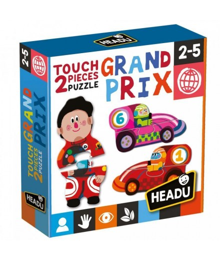 2 pieces Puzzle Touch  grand prix