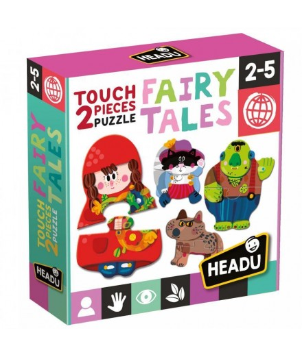 2 pieces Puzzle Touch  fairy tale