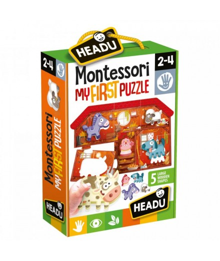 MY FIRST MONTESSORI PUZZLE - FARM