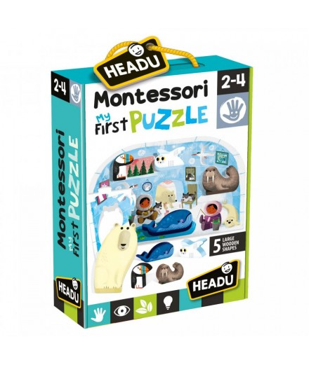 MY FIRST MONTESSORI PUZZLE - THE POLO
