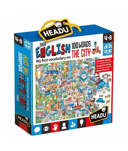 Easy English 100 Words CITY