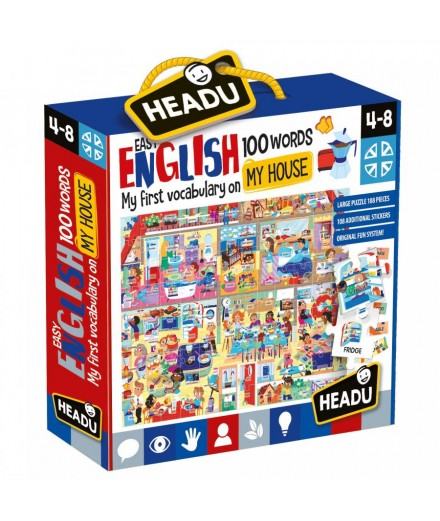 Easy English 100 Words HOUSE