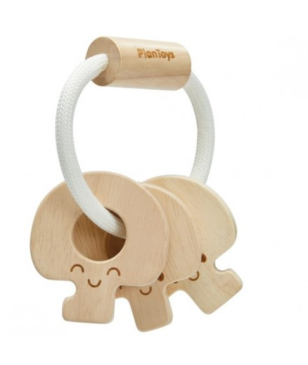 Natural Key Rattle