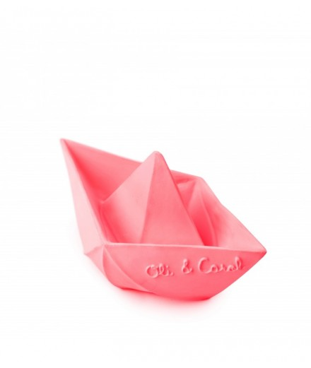 Origami Boat Pink