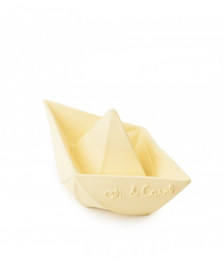 Origami Boat Yellow