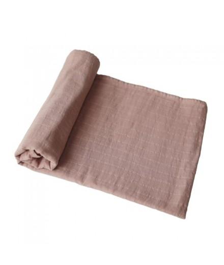 ORGANIC COTTON SWADDLE NATURAL
