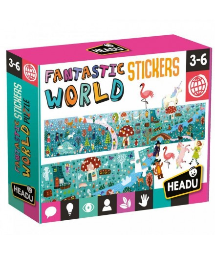 FANTASTIC WORLD STICKERS PUZZLE