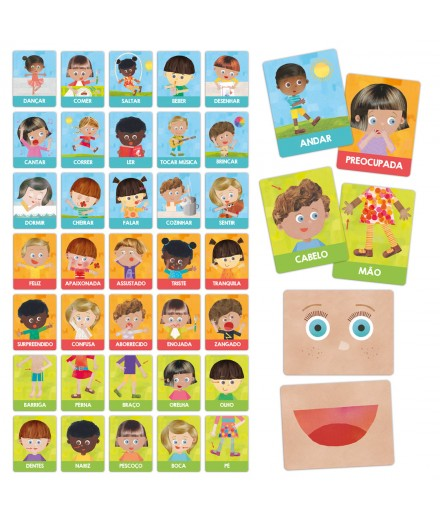 FLASH CARDS ACTIONS AND EMOTIONS