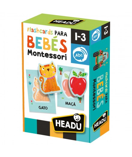 FLASH CARDS PARA BEBÉS - MONTESSORI