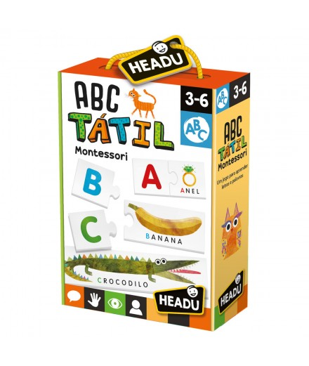 ABC TÁTIL MONTESSORIANO